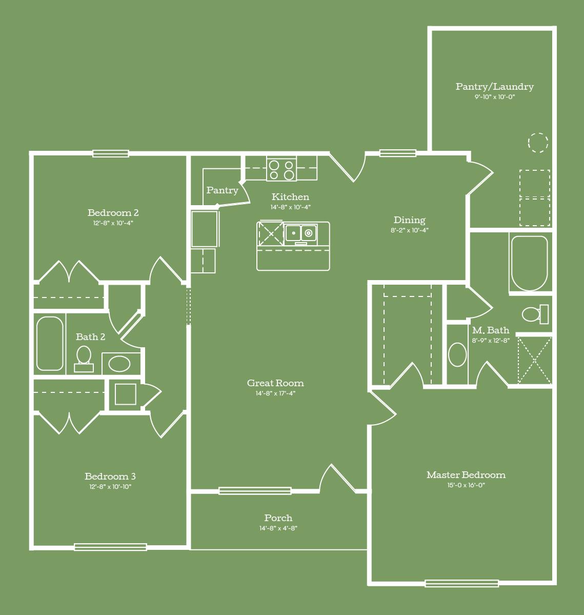 The Houston Floor Plan