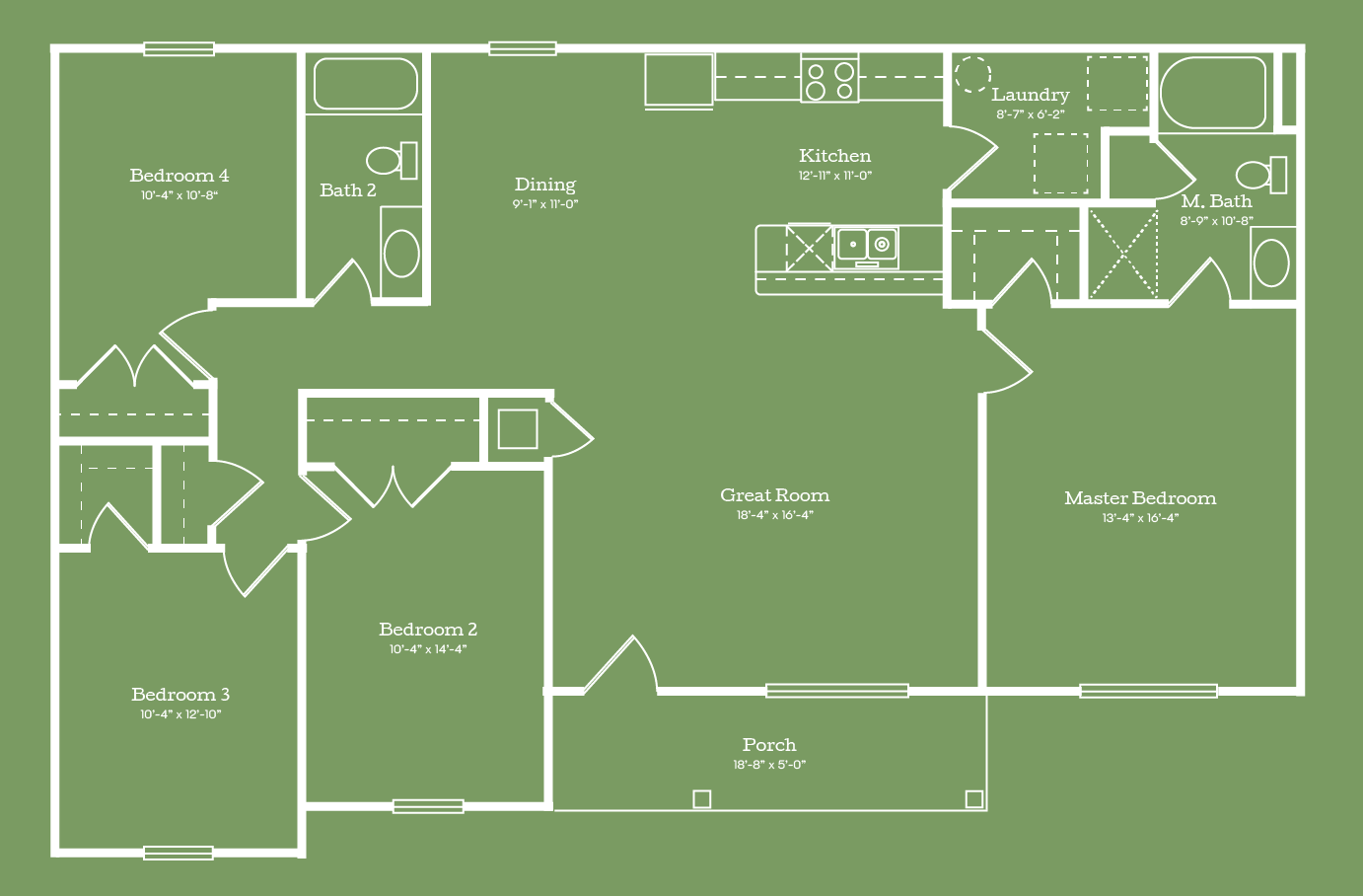 The Madison Floor Plan