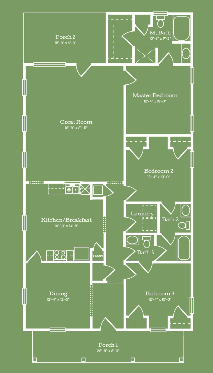 The Sumter Floor Plan
