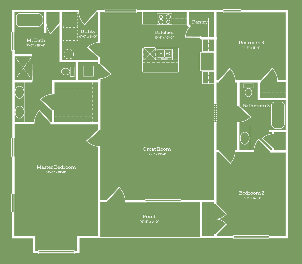 The Bibb Floor Plan