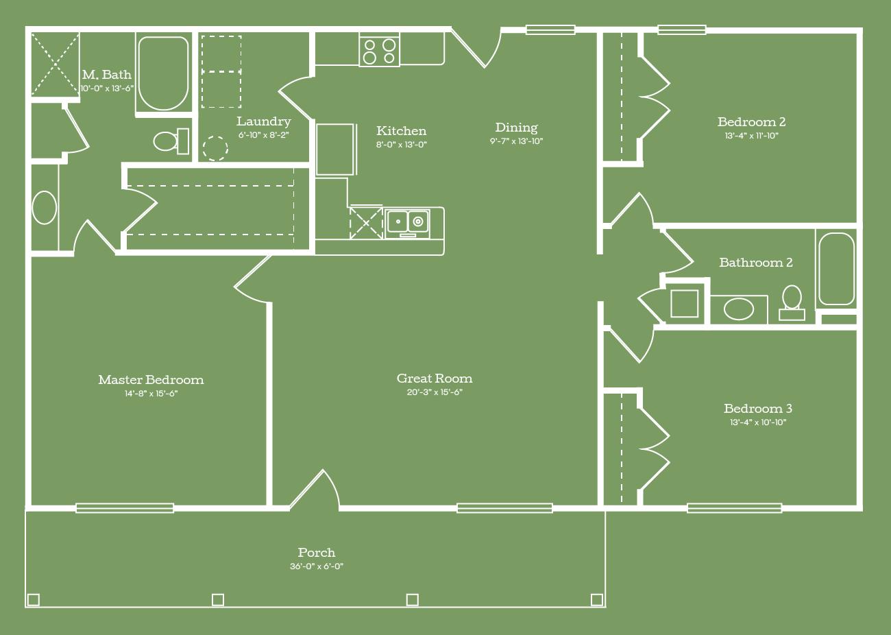 The Carrabelle Floor Plan