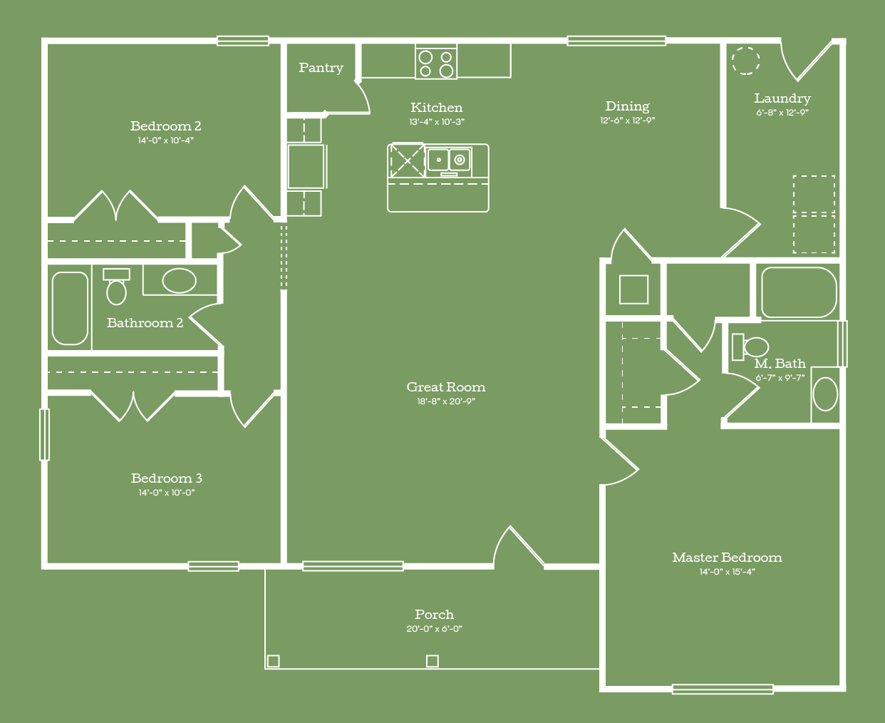 The Covington Floor Plan