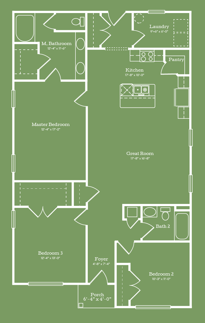 The Dale Floor Plan