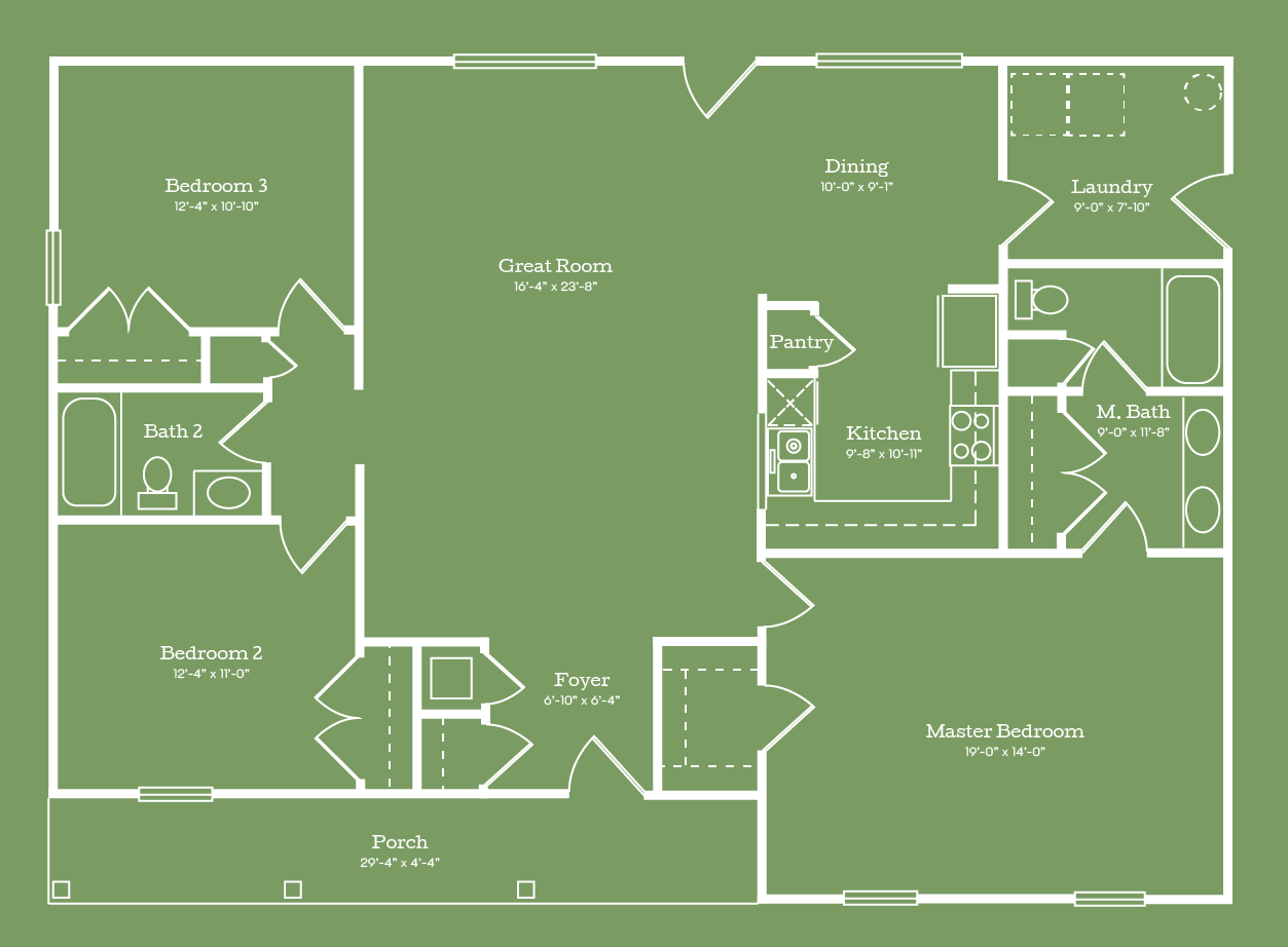 The Dallas Floor Plan