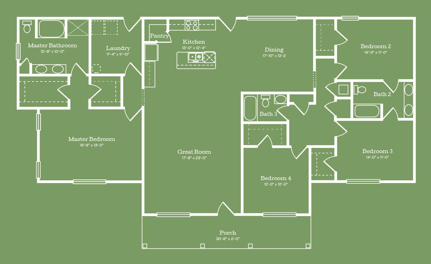 The Jefferson Floor Plan