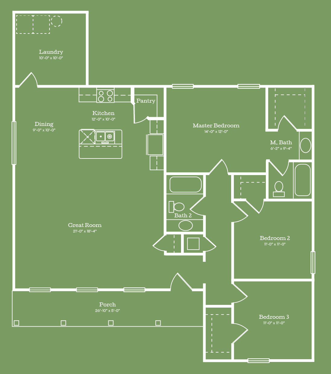 The Lowndes Floor Plan