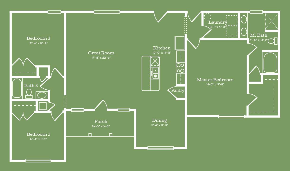 The St. Clair Floor Plan