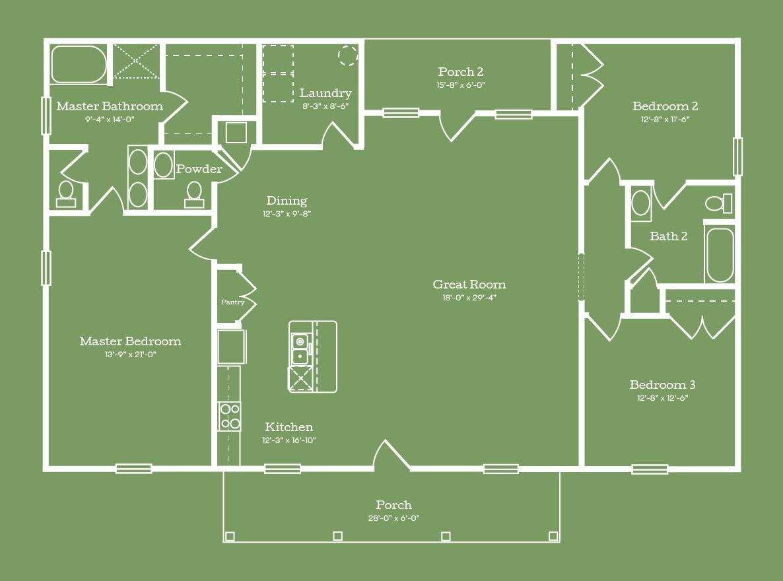 The Talladega Floor Plan