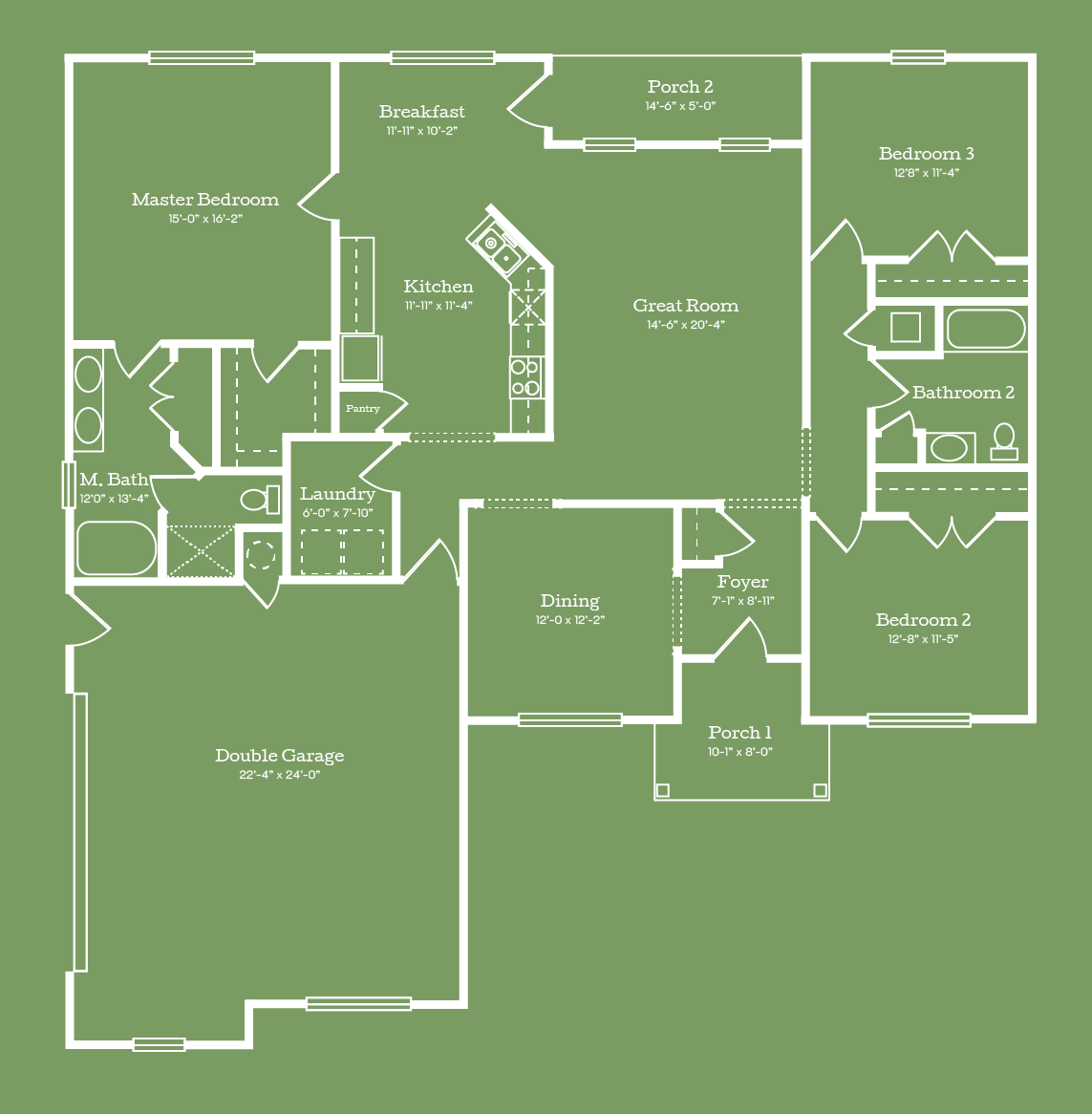 The Washington Floor Plan