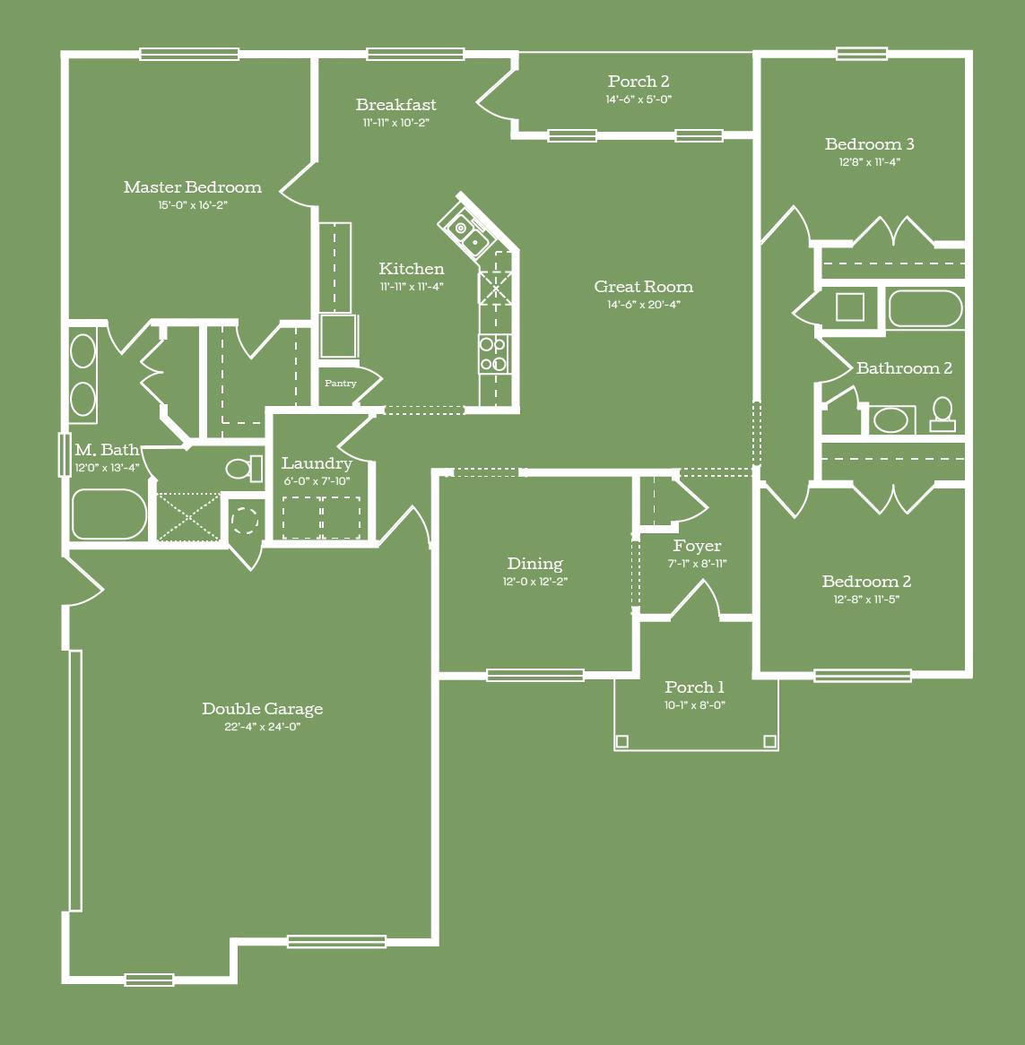 The Washington Floor Plan